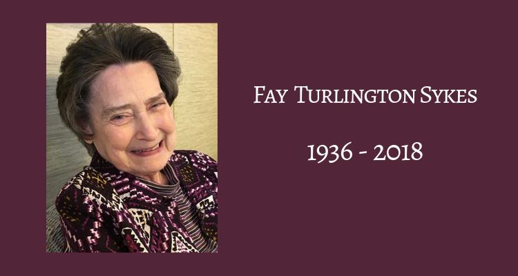 Fay Turlington Sykes