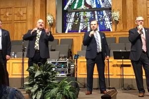 Paul's Journey gospel quartet