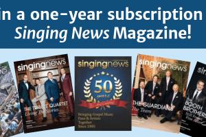 Singing News Magazine giveaway