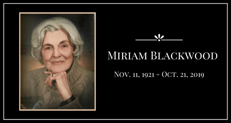 Miriam Blackwood
